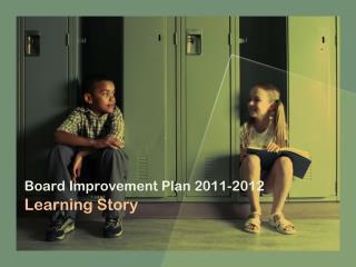 Board Improvement Plan 2011-2012