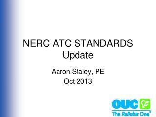 NERC ATC STANDARDS Update