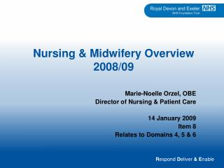 Nursing  Midwifery Overview 2008