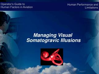 Operator s Guide to  Human Factors in Aviation