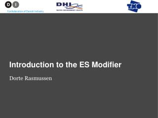 Introduction to the ES Modifier