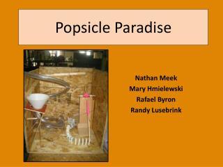 Popsicle Paradise
