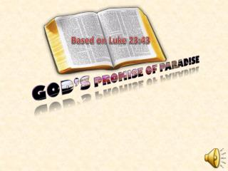 God�s  Promise of Paradise