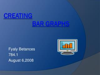 Creating Bar graphs