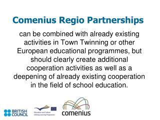 Comenius Regio Partnerships