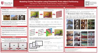 Modeling Clutter Perception using Parametric Proto-object Partitioning