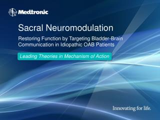 Sacral Neuromodulation