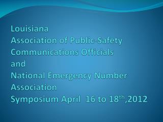 Symposium   Details