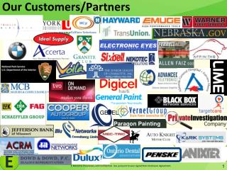 Our  Customers/Partners