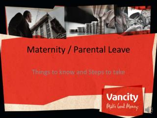 Maternity / Parental Leave