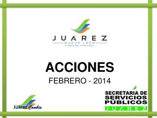 ACCIONES FEBRERO - 2014