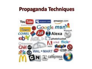 Propaganda Techniques