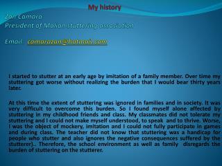 Zan My History
