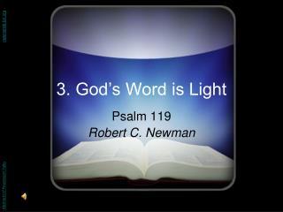3. God's Word is Light