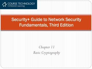 Security Guide to Network Security Fundamentals, Third Edition