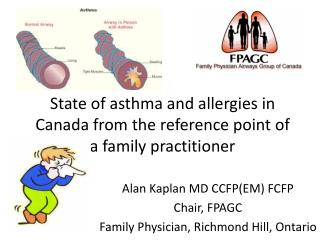 State of asthma and allergies in Canada from the reference point of a family practitioner