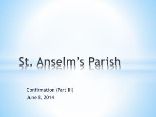 St. Anselm's Parish