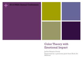 Color Theory with Emotional Impact