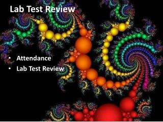 Lab Test Review