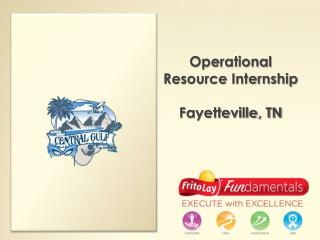 Operational Resource Internship Fayetteville, TN