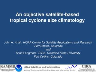 An objective satellite-based tropical cyclone size climatology