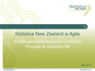 Statistics New Zealand is Agile