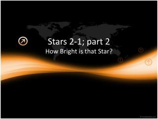 Stars 2-1; part 2
