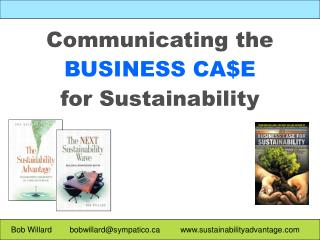 Communicating the BUSINESS CAE  for Sustainability