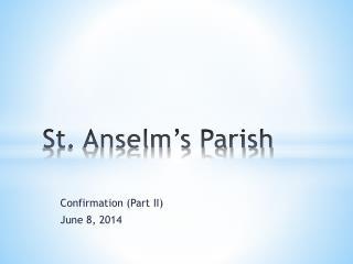 St. Anselm's Parish