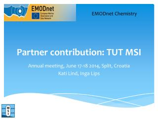 Partner contribution: T UT  MSI