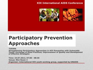 Participatory Prevention  Approaches