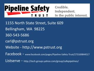 1155 North State Street, Suite 609 Bellingham, WA  98225 360-543-5686 carl@pstrust