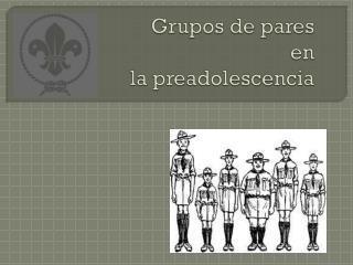 Grupos de pares en  la preadolescencia