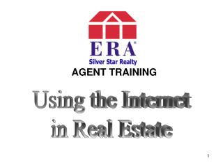 AGENT TRAINING Using the Internet
