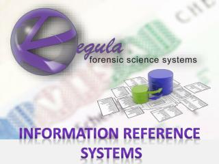 Information Reference  Systems