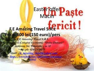 Easter offer Macin
