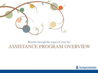 Assistance PROGRAM OVERVIEW