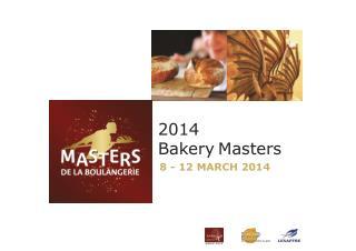 2014  Bakery Masters