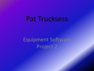 Pat  Trucksess