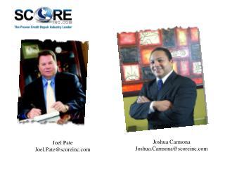 Joel Pate Joel.Pate@scoreinc