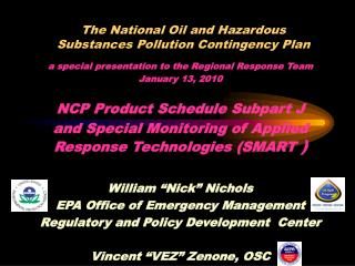 The National Oil and Hazardous Substances Pollution Contingency Plan