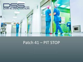 Patch  41 � PIT STOP