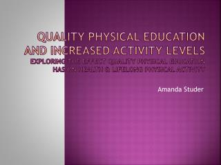 Amanda  Studer