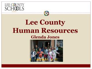 Lee County Human Resources Glenda Jones