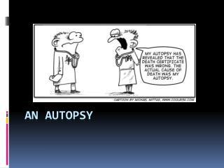 An Autopsy