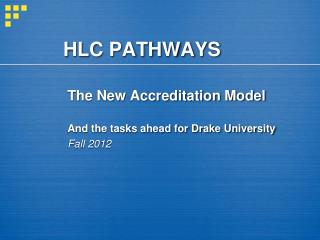 HLC PATHWAYS