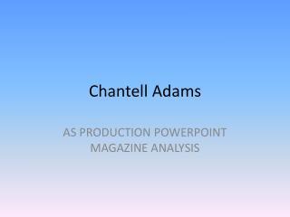 Chantell Adams