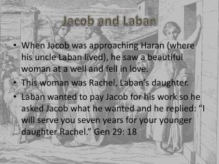 Jacob and Laban