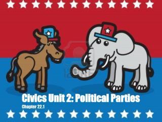 Civics Unit 2: Political Parties Chapter 22.1