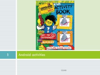 Android activities